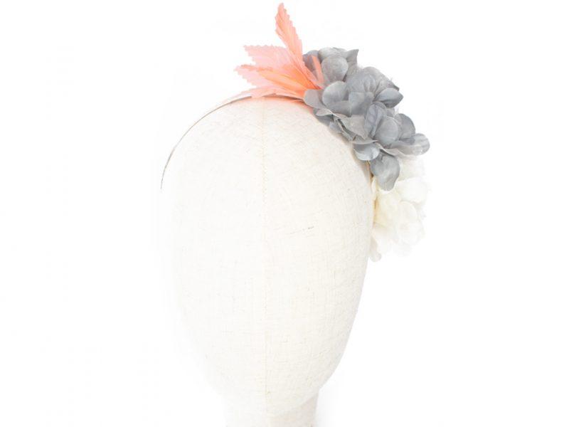 Diadema estilo flamenca de flores