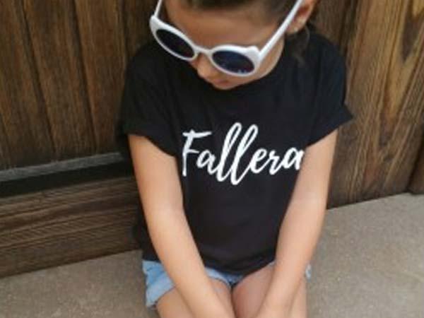 camiseta fallera decompritas niña