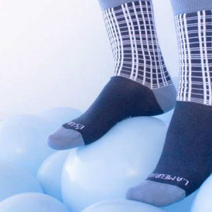 calcetines falleros cuadros pañuelo