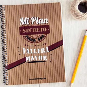libreta plan secreto para ser fallera mayor