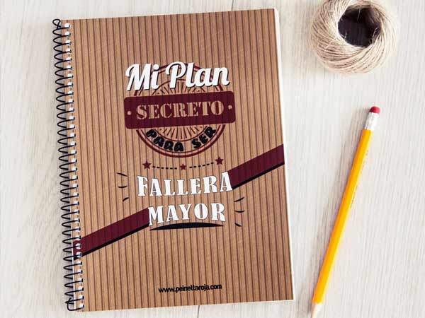libreta plan secreto para ser fallera mayor