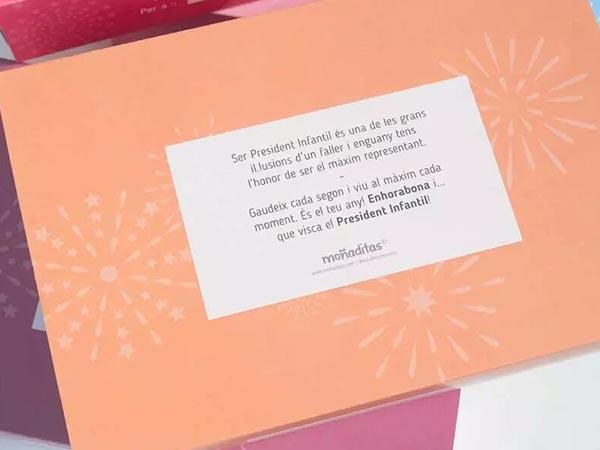 pack regalo presidente infantil