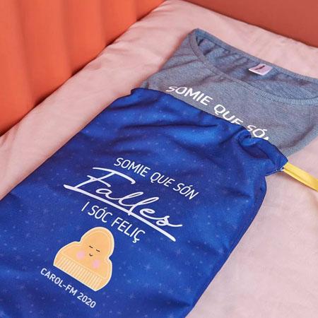 Pijama fallero con bolsita