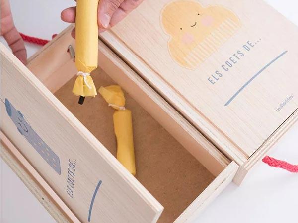caja para petardos peineta