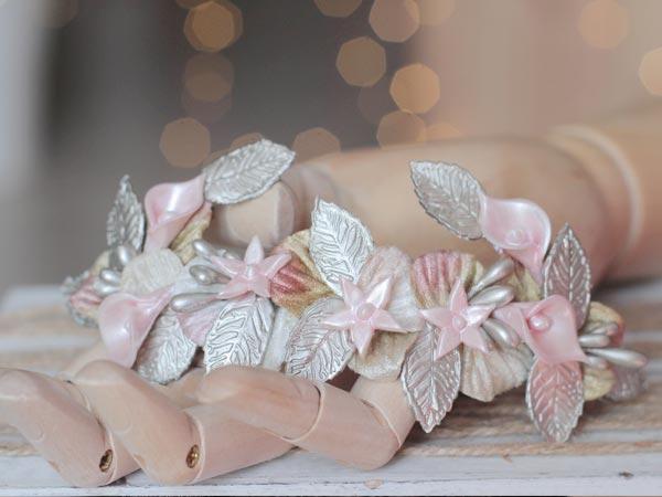 tocado para novia florencia