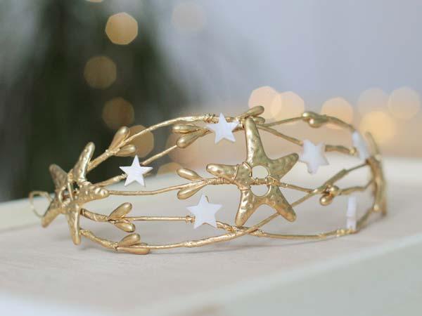 Tocado estrellas comunión