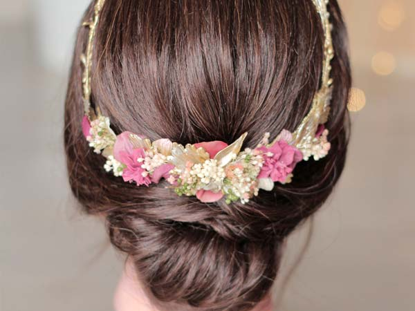 Corona para novia y comunión